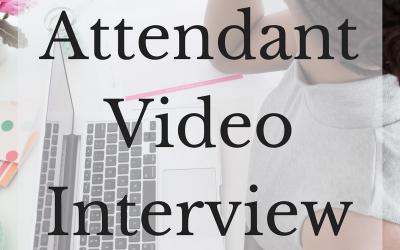 Flight Attendant Video Interview Checklist